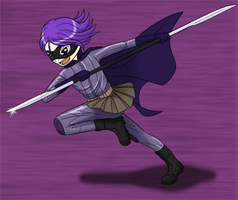 Hit-Girl by TantheFishyMan