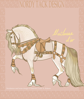 Maitresse d'or Tack Design by emmy1320