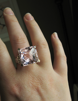 Kunzite Cocktail Ring 2 by mrskupe