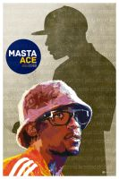 Tribute to Masta Ace by GustavBAD