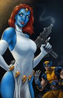 Mystique by VinRoc