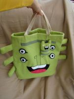 Open Space Tote Bag by creaturekebab