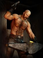 The Blacksmith by kjngrafix