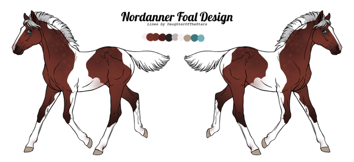 2856 Scaird Fola Foal Design by Remuda-Livery