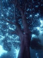 Mystic Tree, Stars in Leaves by WillisNinety-Six