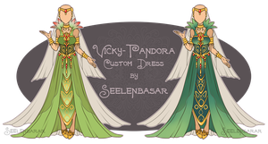 ...Custom Dress // Vicky-Pandora... by Seelenbasar