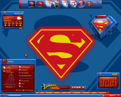 Superman Desktop IV by a666a