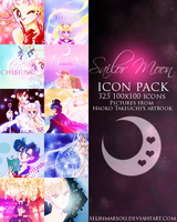 Sailor Moon icon pack by selinmarsou