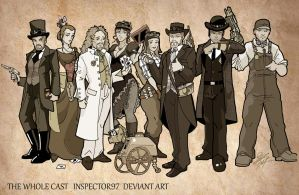 The Whole Cast by Inspector97