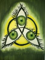 Triquetra of eyes by fosspathei