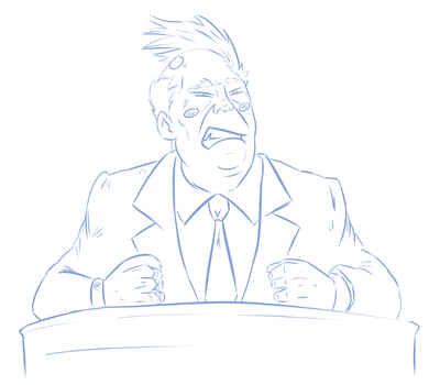 Ace Attorney Breakdown - Donald Trump by Hiverlive