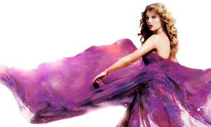 Taylor Swift PNG (Speak Now) by danperrybluepink