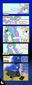 where is luna? by juanrock