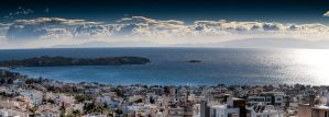 Kavouri in Athens, Greece by GlueR