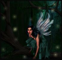 Woodland Fae by SkyesFantasy