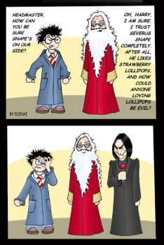 HP comic: Why trust Snape? by Elenai
