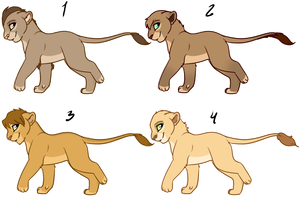 Lions for Sale or Trade by oCrystal