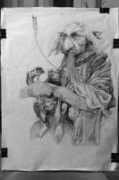 Master study by Alan Lee by IMiletic