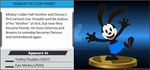 Wii U Trophy - Oswald the Lucky Rabbit by MarcosPower1996