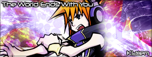 The World Ends With You - Sig by Klaien