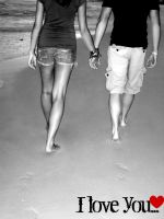 Love at the Beach. by see-you-again