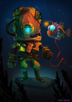 Diver by lalocho