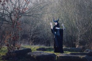 At the stone circle   ...  Maleficent by S-T-A-R-gazer