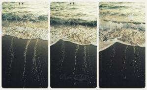Wave Triptych by TheAppleScientist