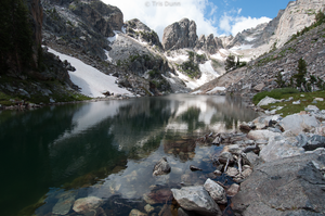 Lake of the Crags by Pinedrop