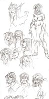 HH Round 4 Sketches by Spookybelle