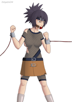 Anko, the furious damsel by ZelgadisGW