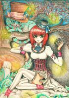 Lady hatter by ladybird870