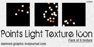 Texture points light icon by xAkyx