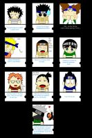 Naruto fortune cookies by darthbiscuit80