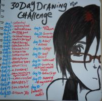 30 Day Drawing Challenge. by AiruSama