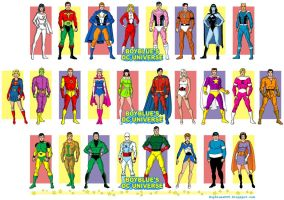 Legion of Super-Heroes of the Silver Age, 1960s by BoybluesDCU
