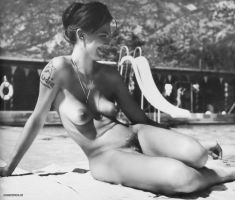 Nudist Camp Icon 2, 1960's by NJDVINTAGE