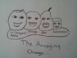 The Annoying Orange by ForeverResa