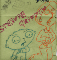 Stewie and Lois by LeeRoberts