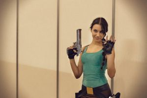 Behind the camera: classic Lara by TanyaCroft