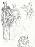 Sketchdump 5...Is that...FROLLO? by AymsterSilver