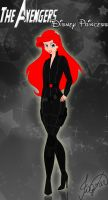 The Avengers: Disney Princess = Ariel/Black Widow by Fagner1994