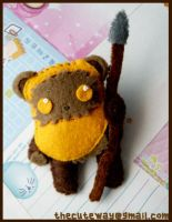 .:Ewok brooch:. by SaMtRoNiKa