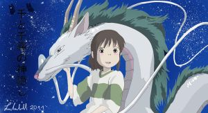 Spirited Away by RukiaNaWoYobu