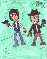 Han Solo and Indiana Jones by SonicClone