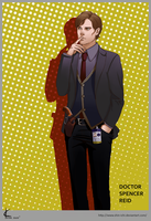 Criminal Minds FanArt: Reid by Shin-ichi