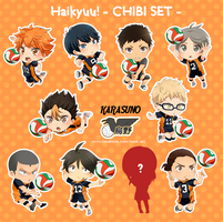 haikyuu team by irask