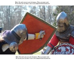 Knights Do Battle (31) by Mithgariel-stock