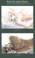 The white sleep beforeafter by N-A-R-I