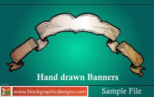 Hand Drawn Banners-Brush by Stockgraphicdesigns